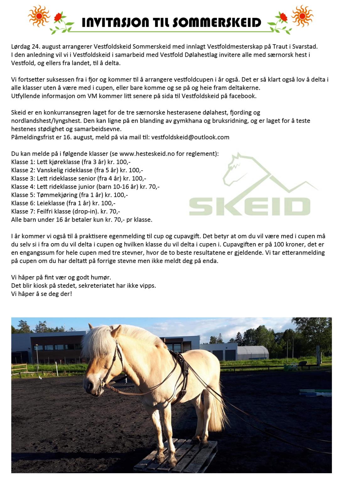 SommerSkeid Vestfold 2019